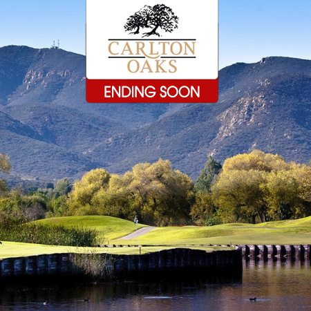 two rounds at carlton oaks golf course santee ca. Black Bedroom Furniture Sets. Home Design Ideas