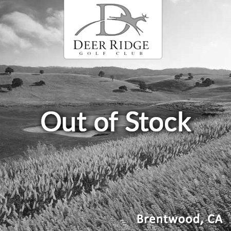 Deer Ridge Sold Out