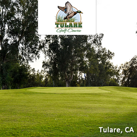 Two Rounds at Tulare Golf Course - Tulare, CA
